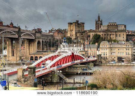 Newcastle Keep Beyond The Swing Bridge