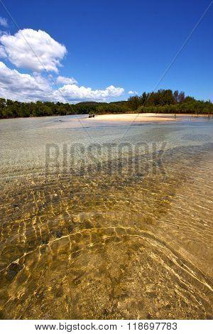 Pond Coastline River  The  Blue Madagascar  Nosy Iranja