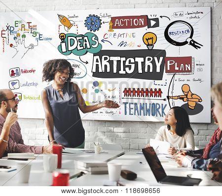 Art Artist Artistry Craft Talent Creativity Concept