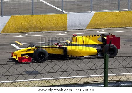 Beautiful Formula 1 car