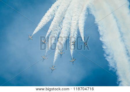 T-50B Black Eagles Fighter Jets