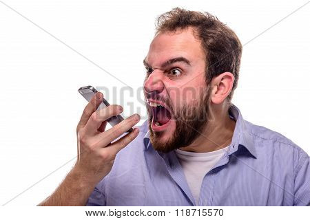 Shouting Into The Phone