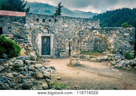 Palio Pili Ruins, Greece