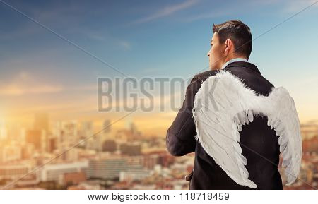 Businessman-angel