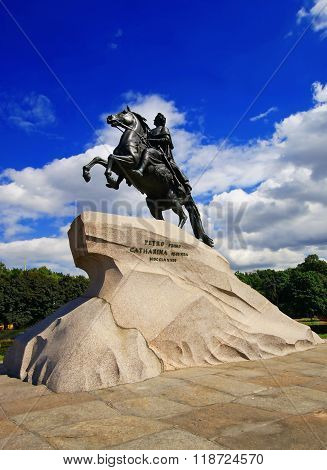 Monument to Peter the Great, the Bronze Horseman, Saint Petersburg