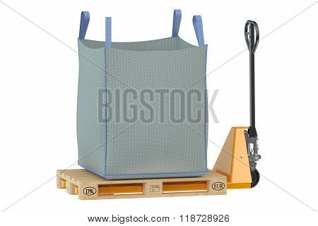 Pallet Jack With Big Bag