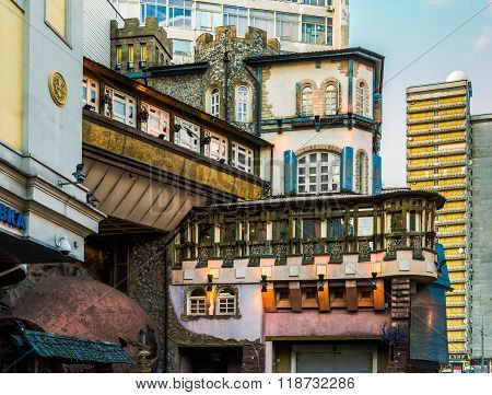 The Genatsvale Restaurant On The Arbat.