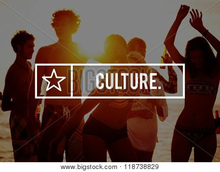 Culture Diversity Tradition Belief Customs Norms Community Concept