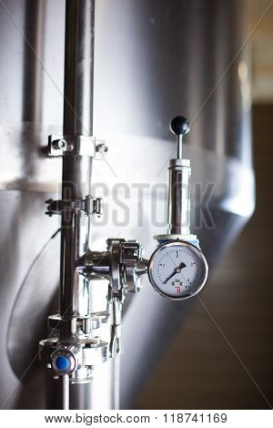 Brewing production vats