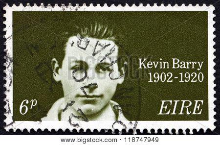 Postage Stamp Ireland 1970 Kevin Barry