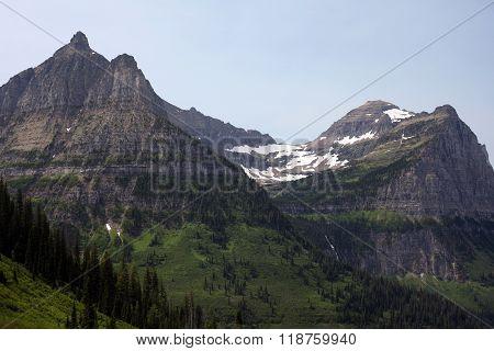 Glacier National Park in Montana, USA
