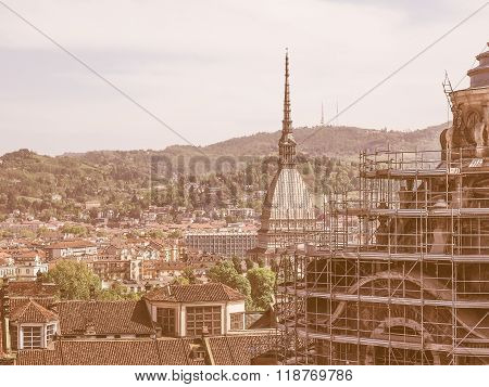 Holy Shroud Chapel In Turin Vintage