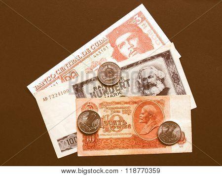 Money Picture Vintage