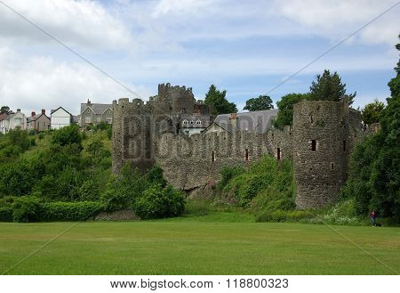 Conwy, Wales - June, 2013: View On Conwy Castle. The Castle Is A Major Landmark In Wales And Attract