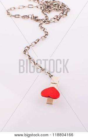 Hearted Clip