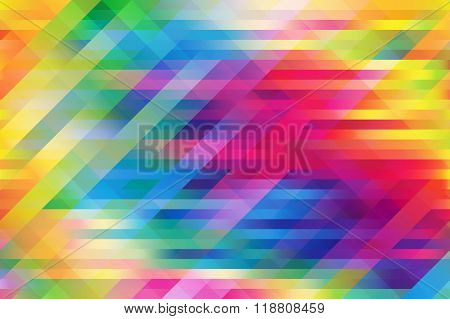 Colorful Mesh Background With Horizontal And Diagonal Lines