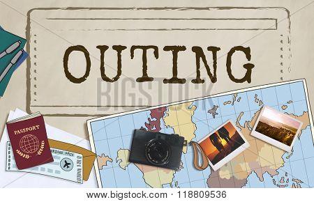 Outing Travel Trip Journey Destination Concept