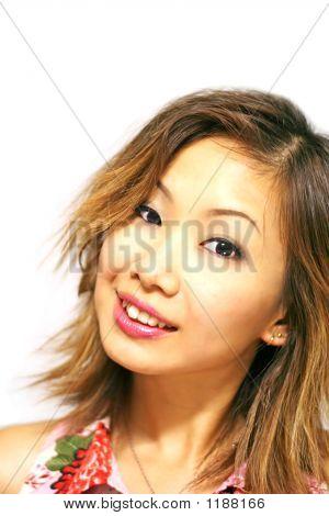 Japanese Girl Smiling