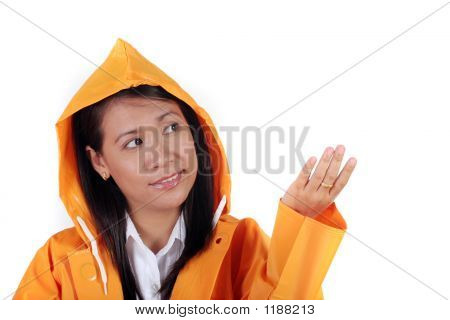 Checking The Rain