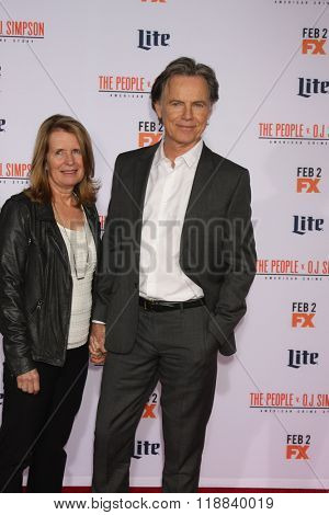 LOS ANGELES - JAN 27:  Bruce Greenwood at the American Crime Story - The People V. O.J. Simpson Premiere at the Village Theater on January 27, 2016 in Westwood, CA