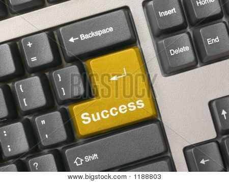 Keyboard - Golden Key Success