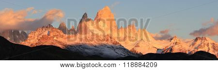 Sunrise at Patagonia.