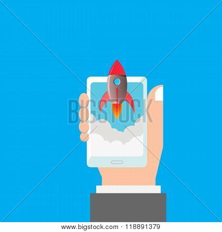 Launch Mobile Application