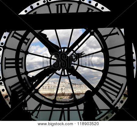 Musée D'Orsay, Paris Clock