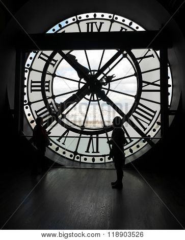 Clock at Musée D'Orsay, Paris