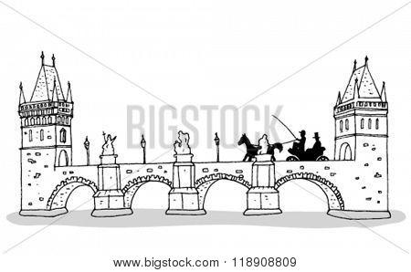 Old Prague Bridge