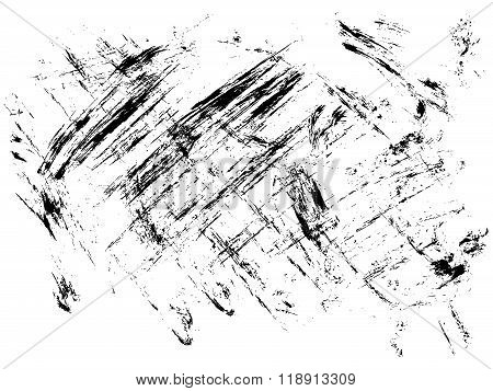 Surface With Ink Blotches