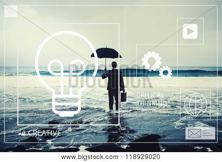 Ideas Creative Creativity Critical Thinking Innovation Concept