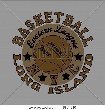 Basketball, Fashion Typography, Sport