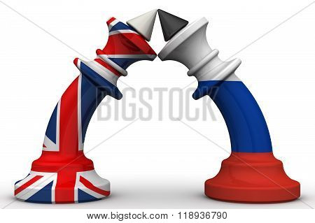 The confrontation between the Russian Federation and the United Kingdom. The concept
