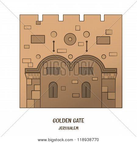 Golden Gate in Jerusalem
