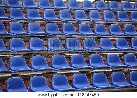 Chairs On The Stadium