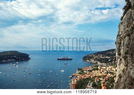 Panoramic View Of Montecarlo, Monaco, Cote D'azur, Europe