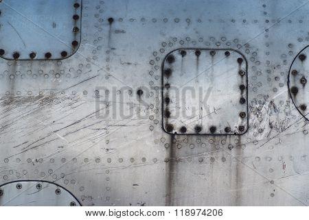 Texture Fuselage Damaged Aircraft