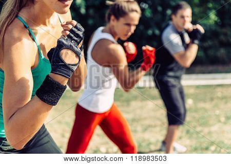 Taebo Exercise