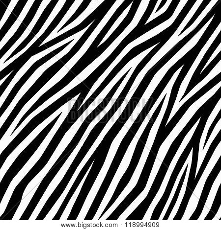 Smooth Zebra Print