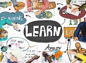 Learn Learning Education Knowledge Wisdom Studying Concept poster