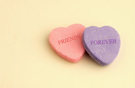 Friends Forever Candy Hearts