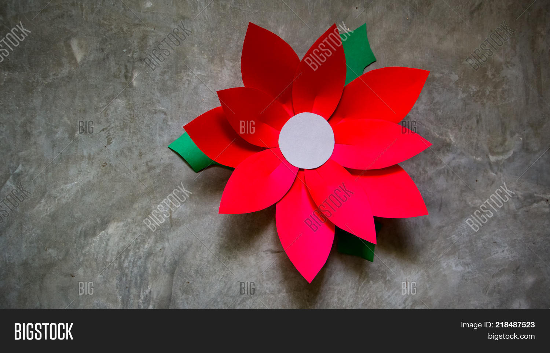 Paper Flower Image Photo Free Trial Bigstock