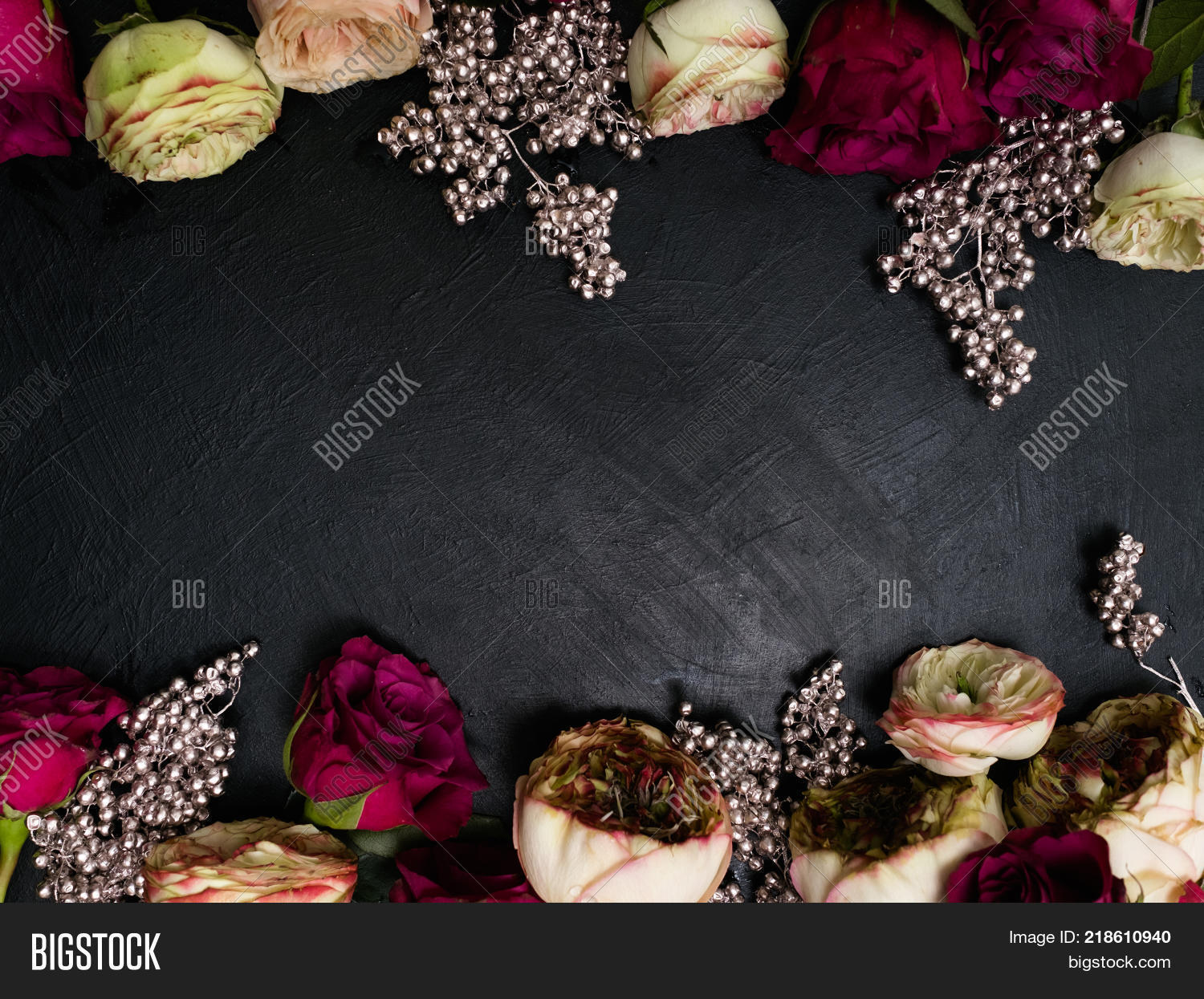 Gothic Wedding Flowers Image Photo Free Trial Bigstock