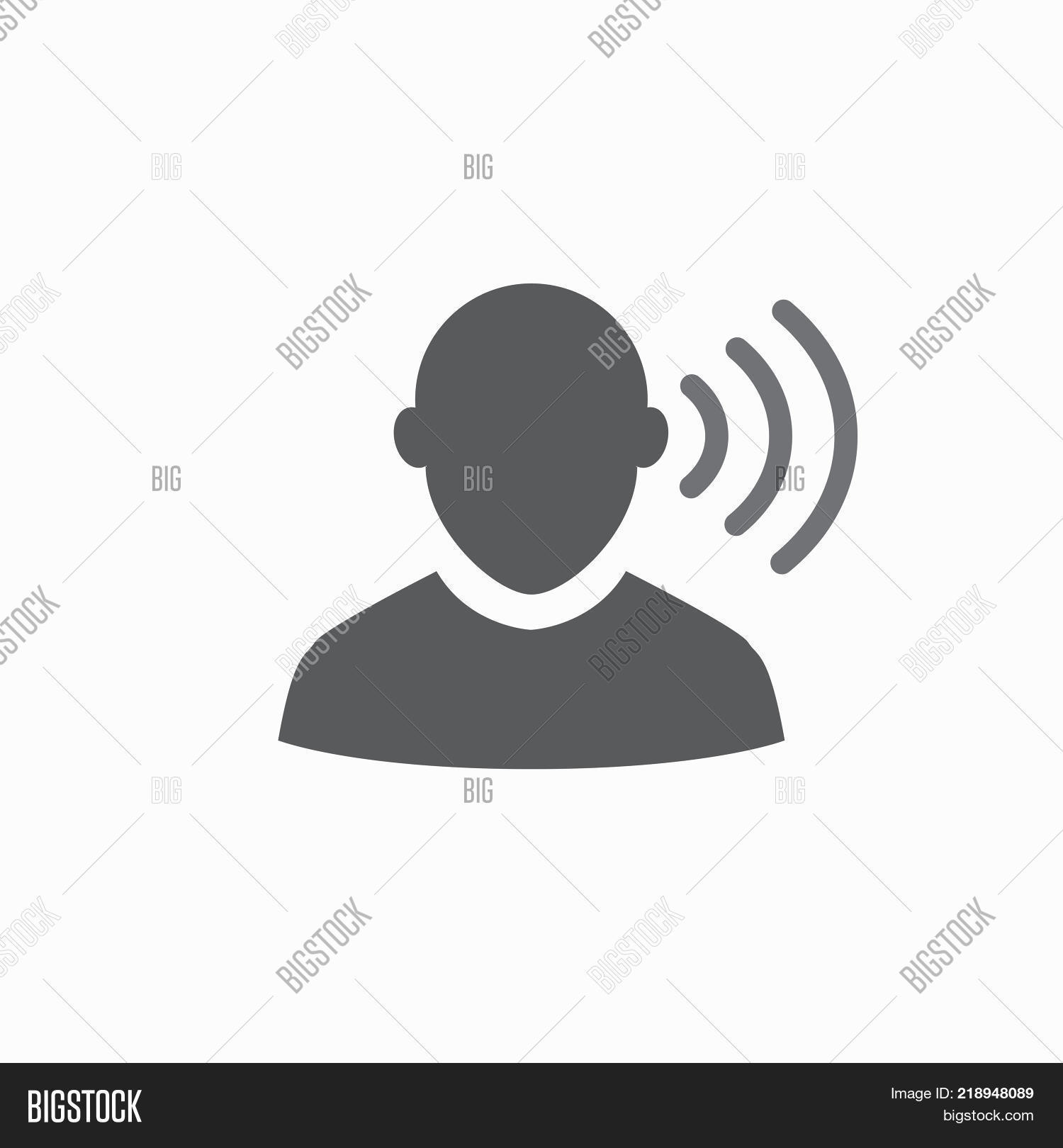 Hearing Aid Icon Image Photo Free Trial Bigstock