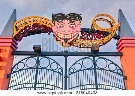 Coney Island Amusement Park in Brooklyn New York