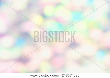 Abstract blurry background of abalone shell haliotis