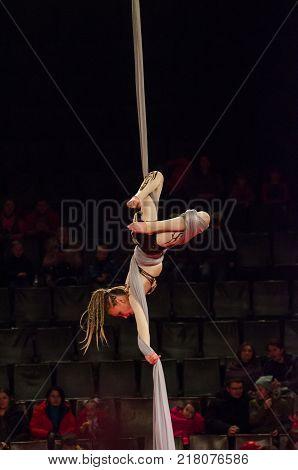 Circus Show A Bright Arena