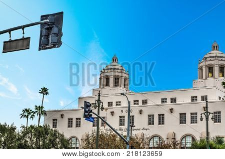 Central Post Office in downtown Los Angeles California