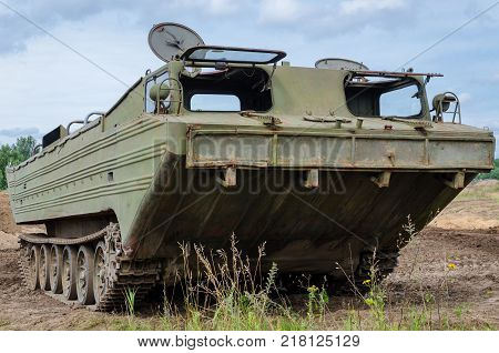 AMPHIBIAN - Old military equipment for sailing